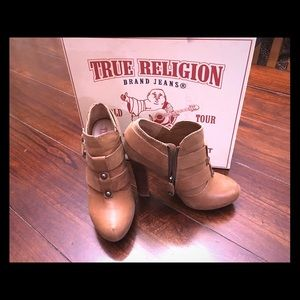 True Religion Booties. So cute! Sz 6.5